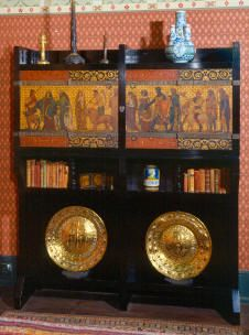 Painted Cabinet designed by William Burges -