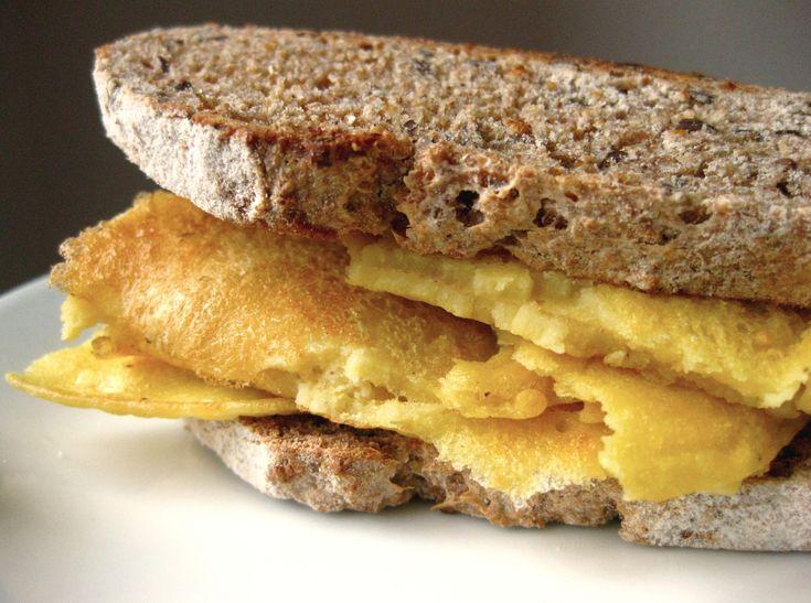 Frittata di ceci Chickpeas omelettes Recipe http://unaelle.weebly.com/blog/frittata-di-farina-di-ceci