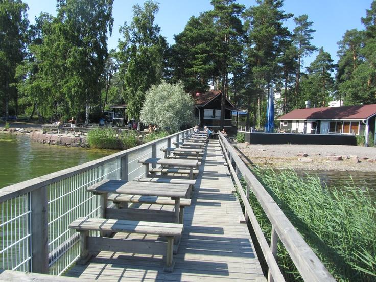 Café Merenneito, Matinlahti, Espoo, Finland