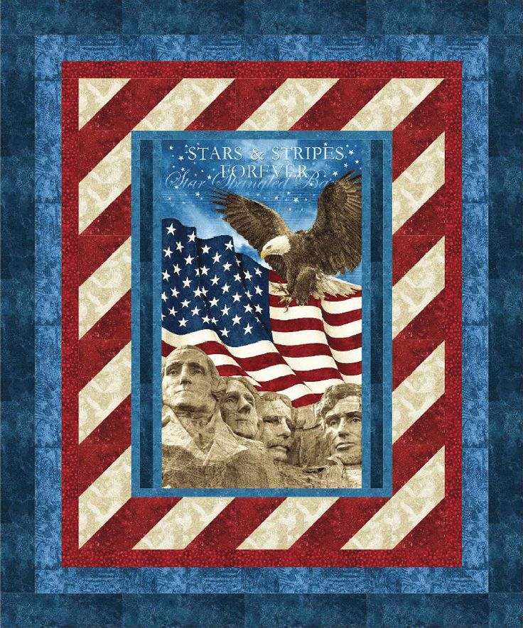 Stonehenge Stars And Stripes Forever Pillars Of Strength Free Quilt Pattern Patriotic Quilts