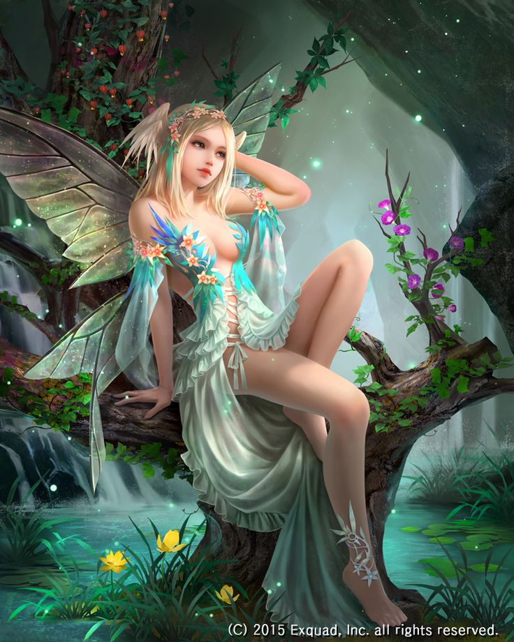sensual erotic fairies
