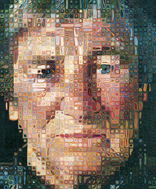 Chuck Close, 'Agnes', 1998, San Francisco Museum of Modern Art (SFMOMA) | Artsy