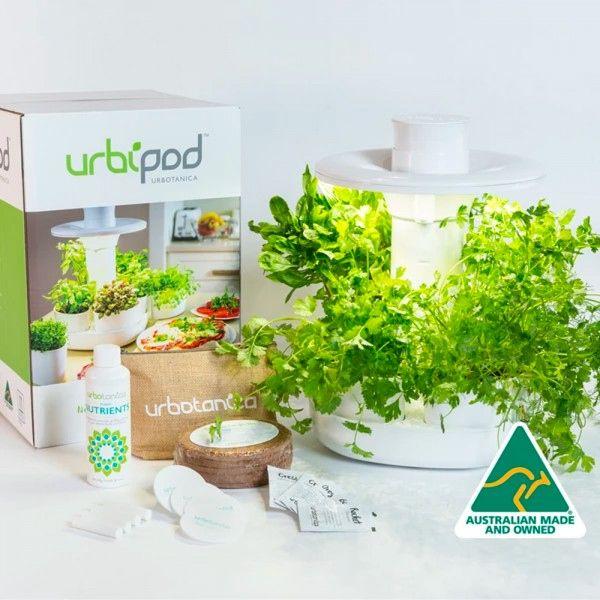 Urbotanica Urbipod Indoor Garden Indoor Garden Growing Herbs Plant Roots