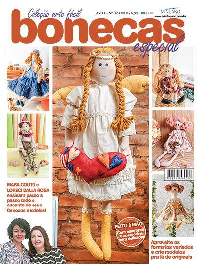 Artesanato - Bonecas : COL ARTE FACIL BONECAS ESP 002 - Editora Minuano
