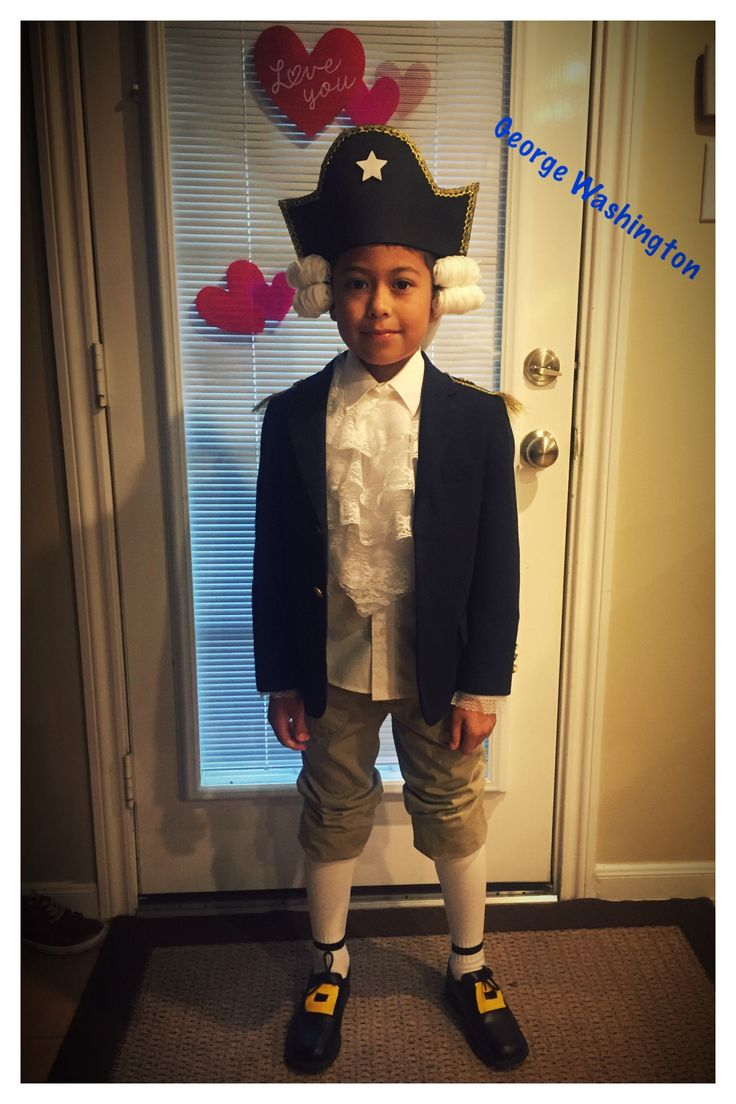 DIY George Washington costume