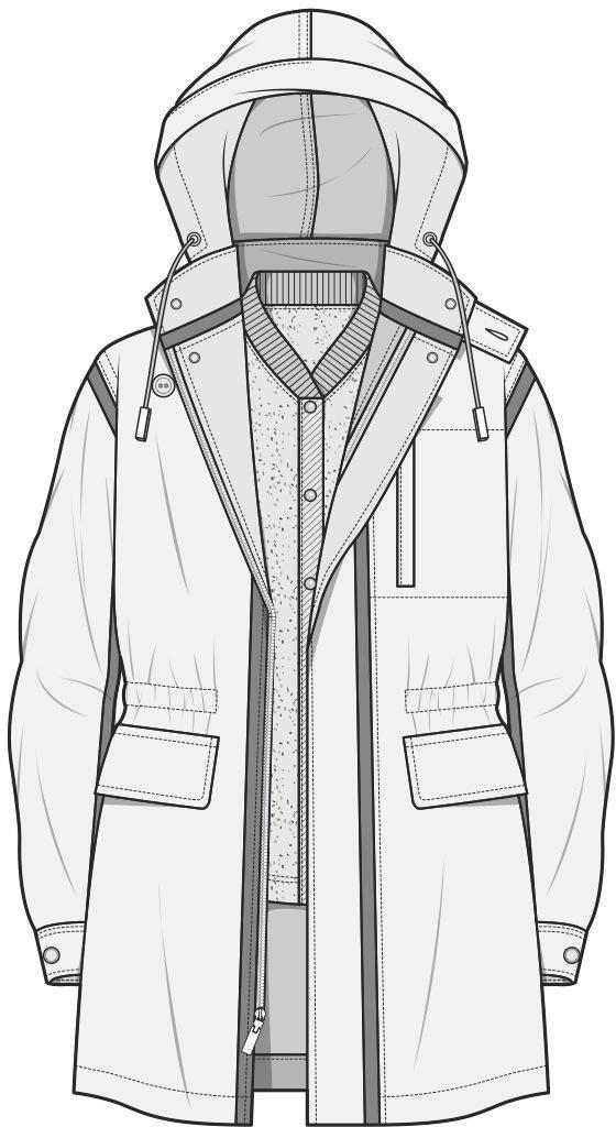Flat sketch  ♦F&I♦