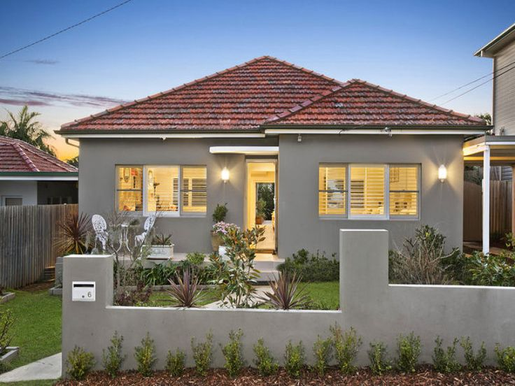 exterior render and paint colour