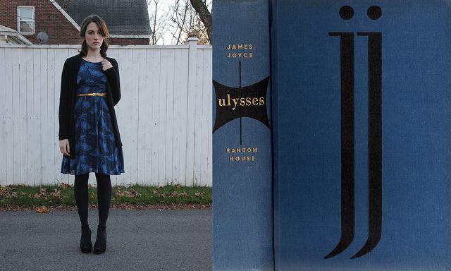 Dressed like Ulysses: Fashion Ideas, Book Fashion, C13 Blues, Dress, Book Inspiration, Book Covers, Fashion Inspiration