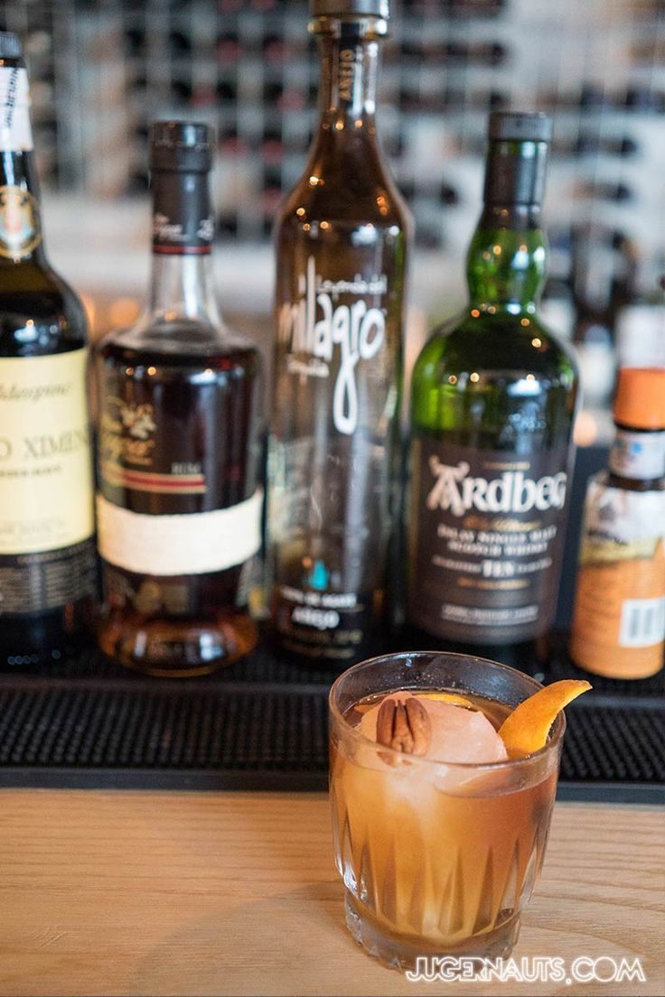 Dragoncello Surry Hills - a Bobby Dazzler, featuring pedro Ximenez, tequila whisky, angostura bitter.