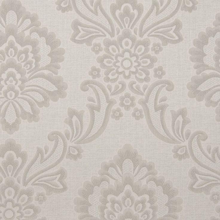 Tapet textil crem floral 072470 Sentiant Pure Kolizz Art