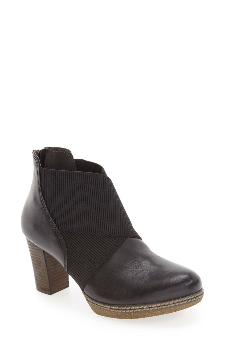 New Gabor Block Heel Bootie (Women) fashion online. [$204.95]@shop.swwshoes<<