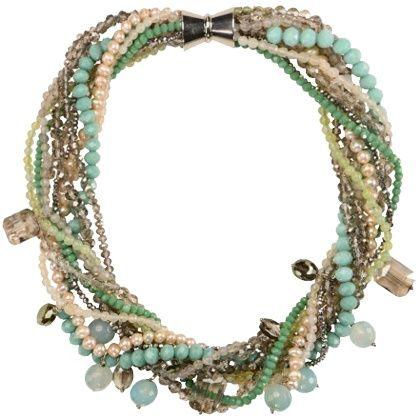 Halskette mit Perlen - Litalu