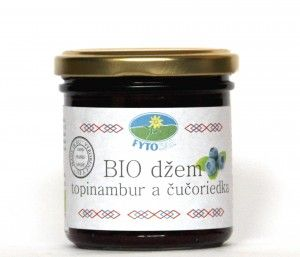 Topinambur jam (blueberry)