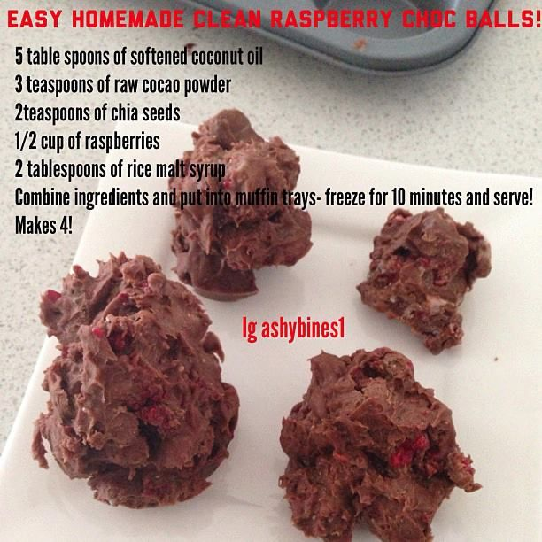 Ashy Bines Clean Eating Diet Plan  Felt like something sweet so whipped up these delicious balls!!!!!  Could put protein powder or blueberries or nuts in if you like too!!  SO yum and SO easy!