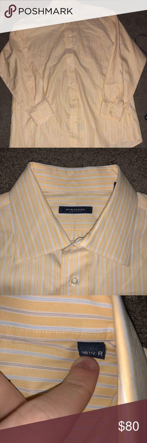 Burberry London Size 16.5 men's dress shirt Men's Burberry London dress shirt that is in excellent condition. Burberry Shirts Dress Shirts