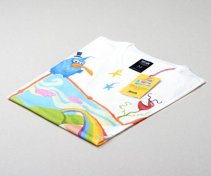 Between legs t-shirt. More on www.selvastore.com