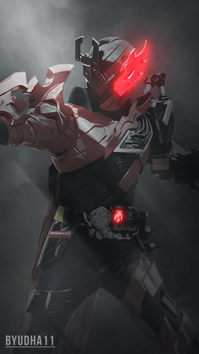 Kamen Rider Build : Phoenix Robo Wallpaper by Byudha11