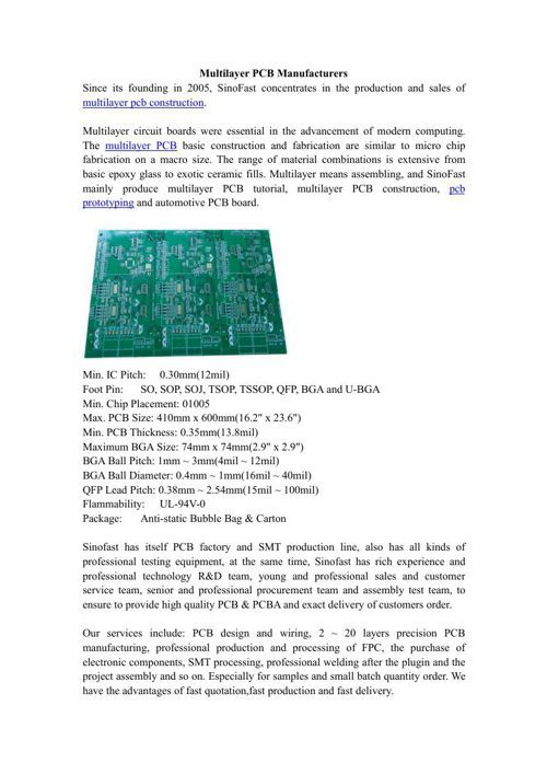 FlipSnack | Multilayer PCB Manufacturers by zhen shen