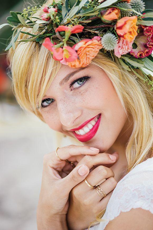 Bright pink! Bohemian Beauty by Die Hochzeitsfotografen