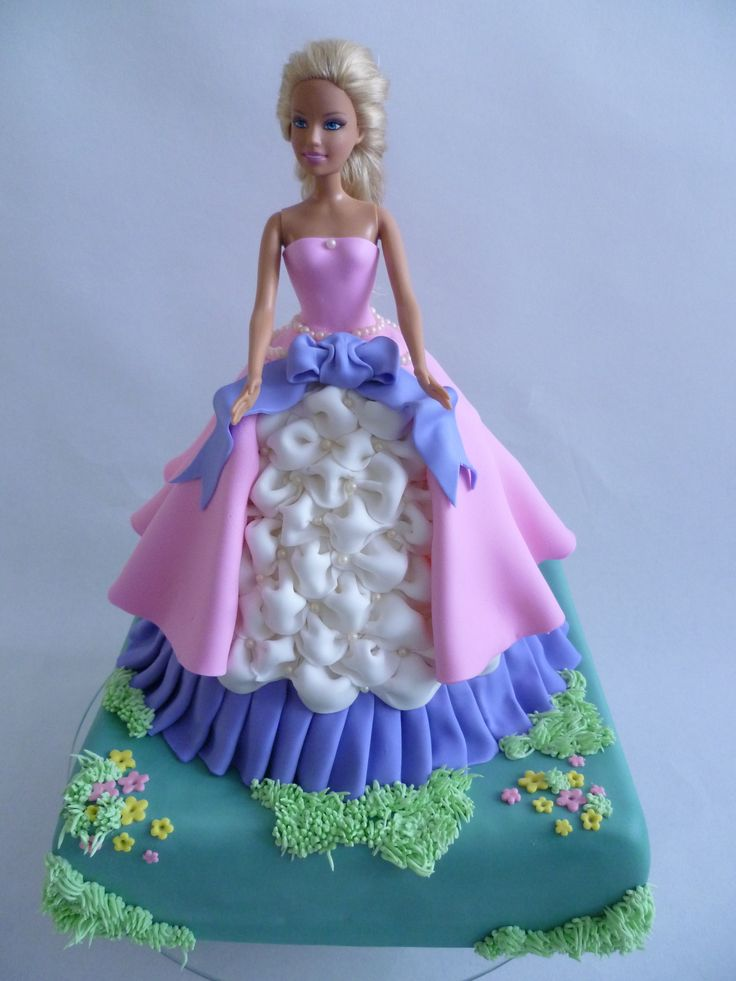 Cake Decorating Doll Dress Prezup for
