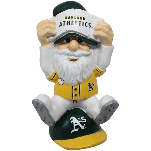 mlb gnomes | Oakland Athletics Thematic Gnome II