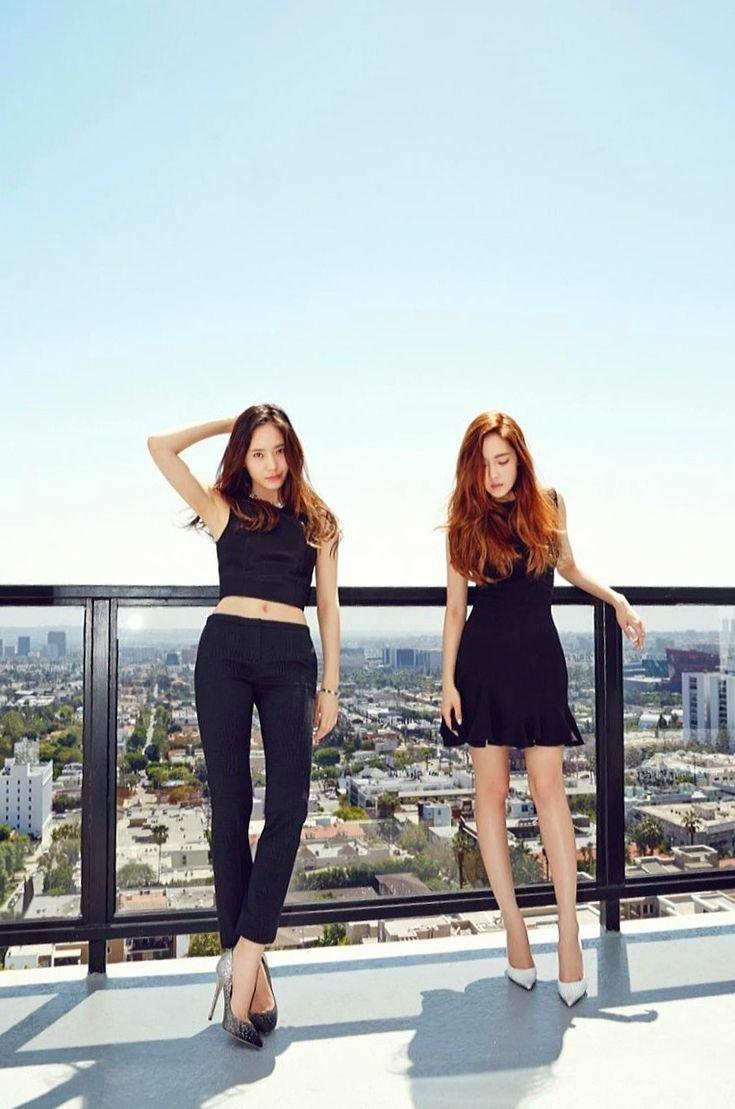Krystal Jung and Jessica Jung #sisterjung #fx #snsd #sm #smentertainment #kpop