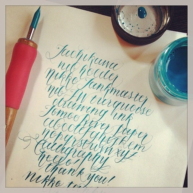 1000 Images About Lettering Calligraphy Fonts On