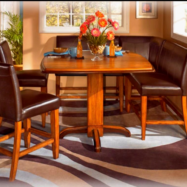 Urbandale Counter Height Table \u0026 Booth-Style Stool Set - Sam\u0027s Furniture \u0026 Appliance - Pub Table and Stool Set Fort Worth Arlington Dallas Irving Texas : booth kitchen table set - pezcame.com
