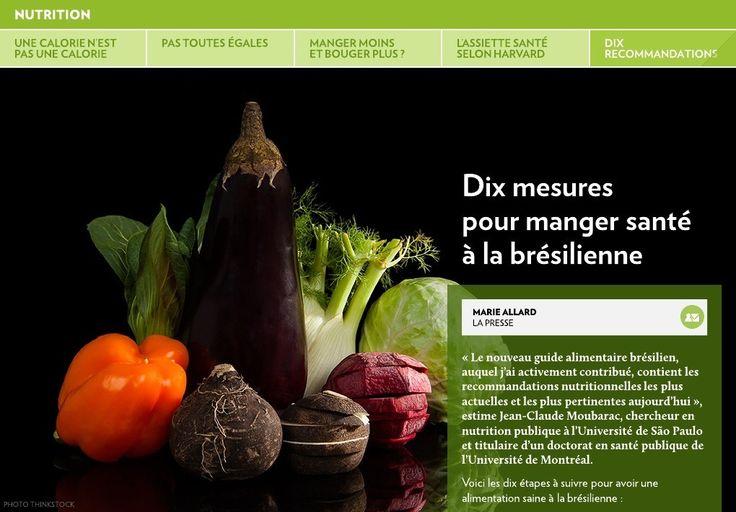 «Le nouveau guide alimentaire brésilien, auquel j'ai activement contribué, contient les recommandations nutritionnelles les plus actuelles et les plus pertinentes aujourd'hui», estime Jean-Claude Moubarac, chercheur en nutrition publique à l'Université de São Paulo et titulaire d'un doctor&hel