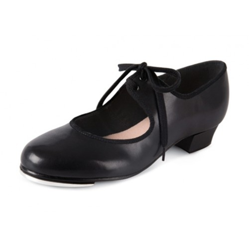 Bloch Shirley tie-up Girls, Tap Shoes  The Shirley tie-up tap shoe is an excellent fitting tap shoe perfect for students. A stylish shoe with Bloch's own developed toe spring, which gives a maximum sound with the toe tap.  Width : M  Price: 21.10€