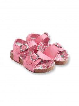 Sandalettes à scratchs