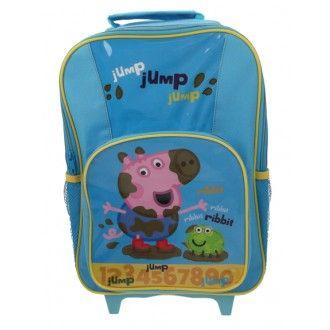 Peppa Pig George Jump Jump Wheelie Bag