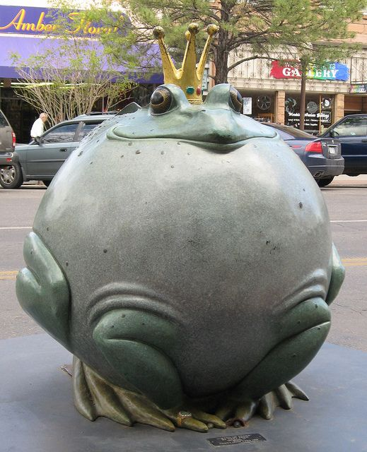 Frog Prince, Art on the Corner, Grand Junction, Colorado