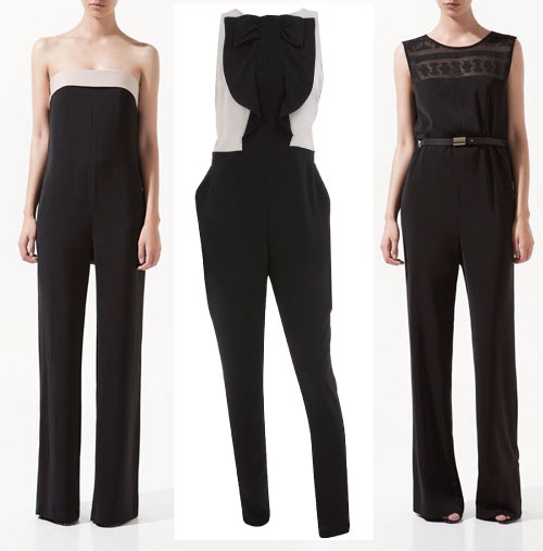 El del centro es de Doroty Perkins y cuesta 57 € y los otros dos son de Zara; el de la izquierda cuesta 39,95 € y es muy sofisticado, mientras que el de la derecha cuesta 49,95 €