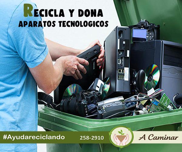 Reciclar aparatos tecnológicos y residuos electrónicos es muy importante, ya que sus materiales contienen tóxicos que contaminan al medio ambiente y es dañino para la salud. RECICLEMOS ♻️♻️ Preservemos el medio ambiente 🌎 y nuestra salud.