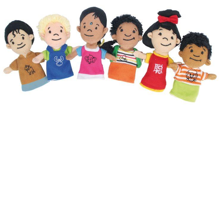 Para aprender de otras culturas ;) y aprender a respetar otras costumbres y modos de vida #marionetas #marionetasdededo #marionetasinfantiles http://www.babycaprichos.com/marionetas-de-dedo-mundo.html