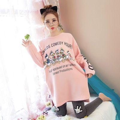 32e6d4e03ebd Free Shipping new arrived 100% cotton spring and autumn sleepwear women s  long-sleeve sleepwear pajama 2 pcs