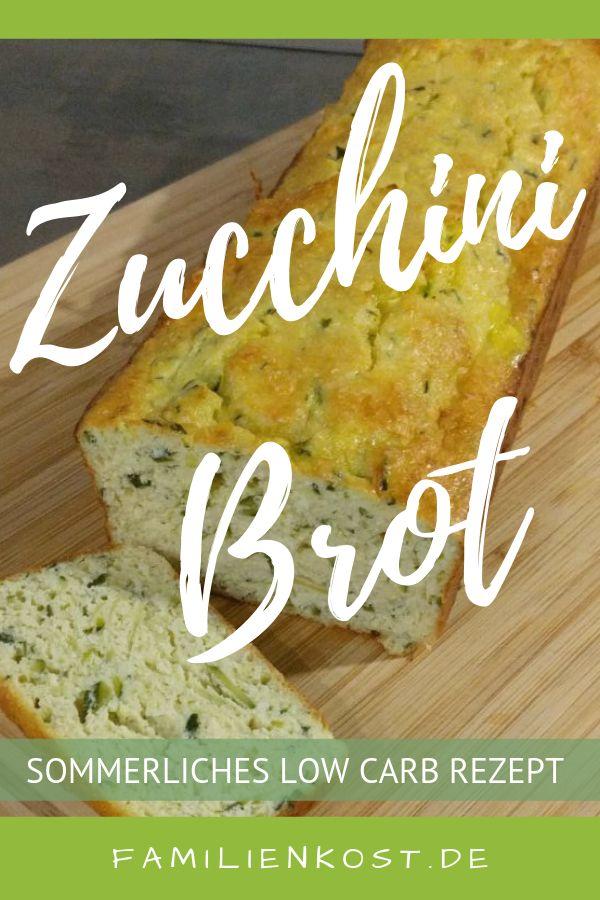 Low Carb Zucchini Brot