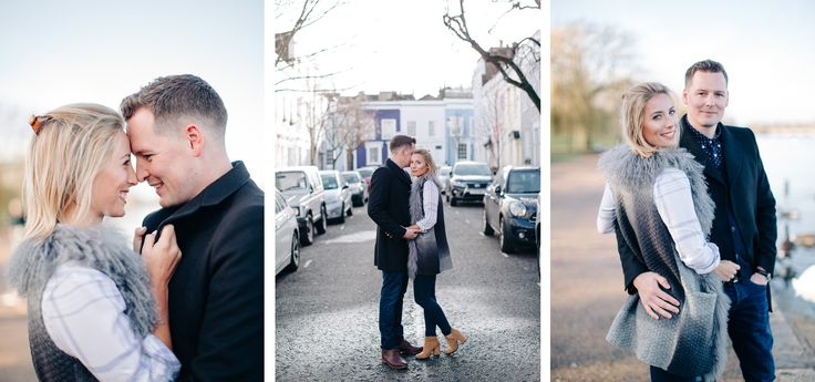 London engagement shoot love photography couple pre-wedding wedding urban street…