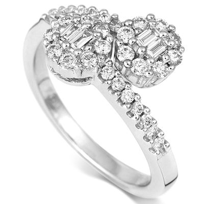 18CT WHITE GOLD DIAMOND RING 0.64CT Found at www.coolrocks.co.uk