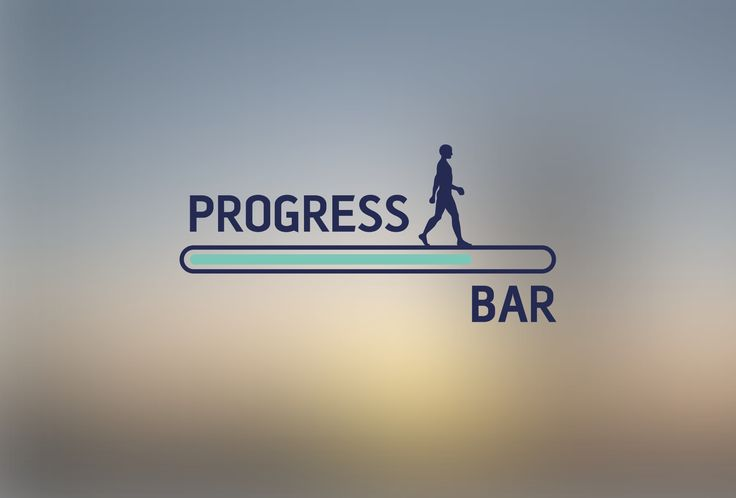 Progress Bar Logotype, Branding by REMION
