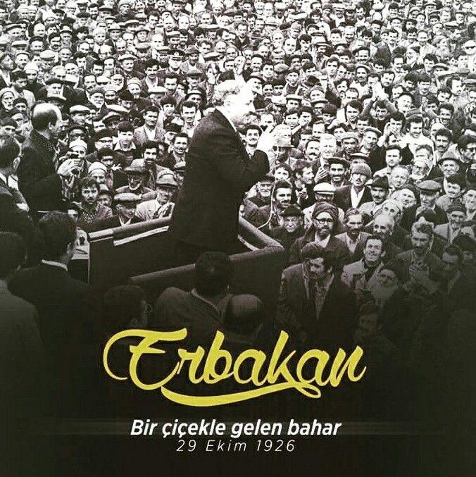 """""""Bir çiçekle bahar olmaz ama her bahar bir çiçekle başlar."""" [Prof. Dr. Necmettin Erbakan]  #çiçek #bahar #yaz #olmaz #necmettinerbakan #necmeddinerbakan #erbakan #erbakanhoca #Allahrahmeteylesin #türkiye #siyasi #sosyal #politika #ilmisuffa"""