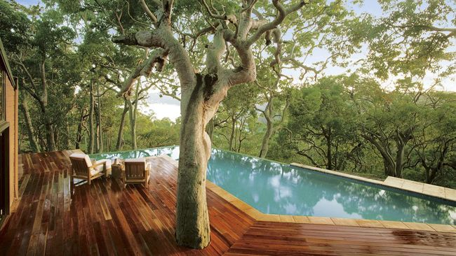 Beach House, Bouddi Peninsula. Infinity pools make me nervous, but i would make an exception for this!