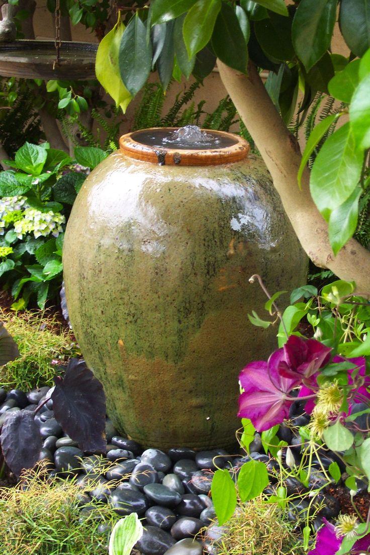 Tropical Outdoor Gardens Water Fountain