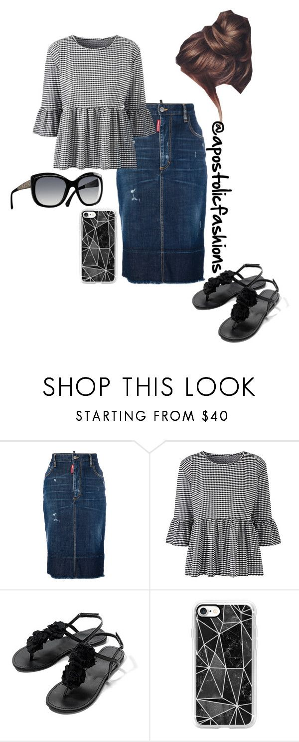 """Apostolic Fashions #1745"" by apostolicfashions ❤ liked on Polyvore featuring Dsquared2, Chanel and Casetify"