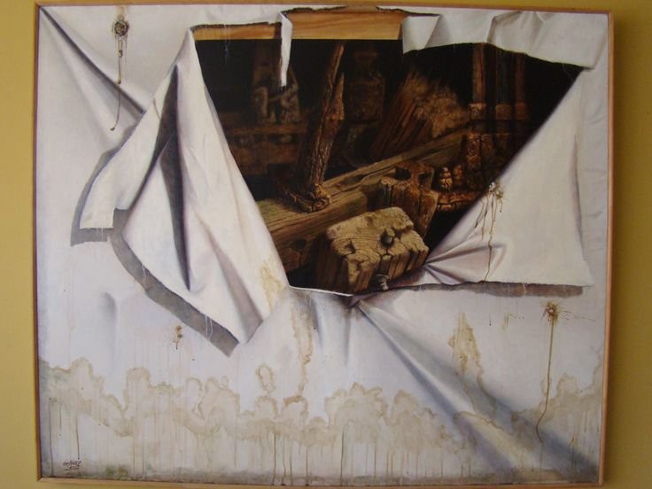 Luis Núñez, pintor. #Antofagasta #Chile. Óleo sobre tela.