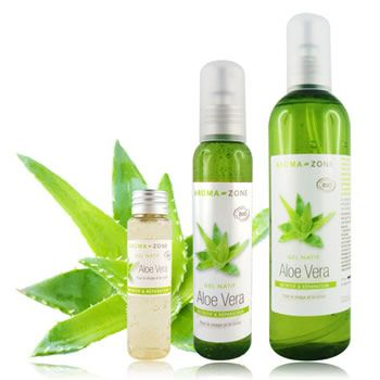 Gel d'aloe vera : purifiant, cicatrisant et matifiant - Aroma Zone