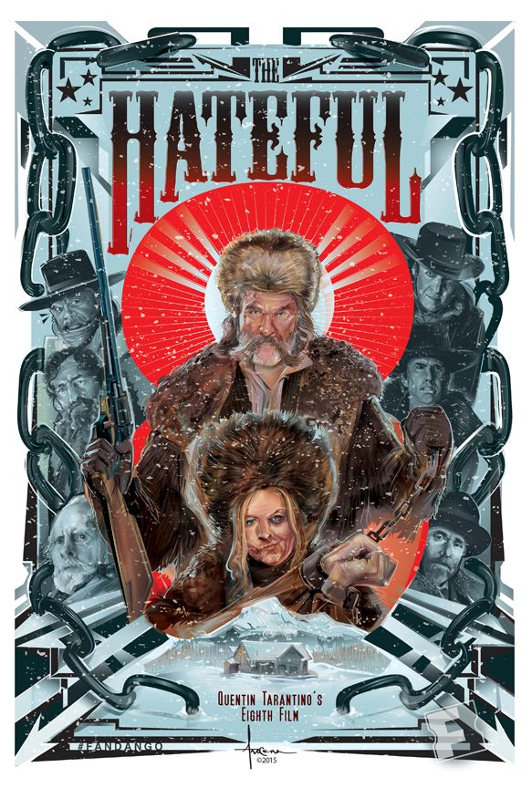 The Hateful Eight - vector commission for  Fandango - created by Orlando Arocena…
