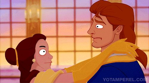 Beauty and the Beast: | Derpy Disney Animations That Will Make You Question Your Sanity