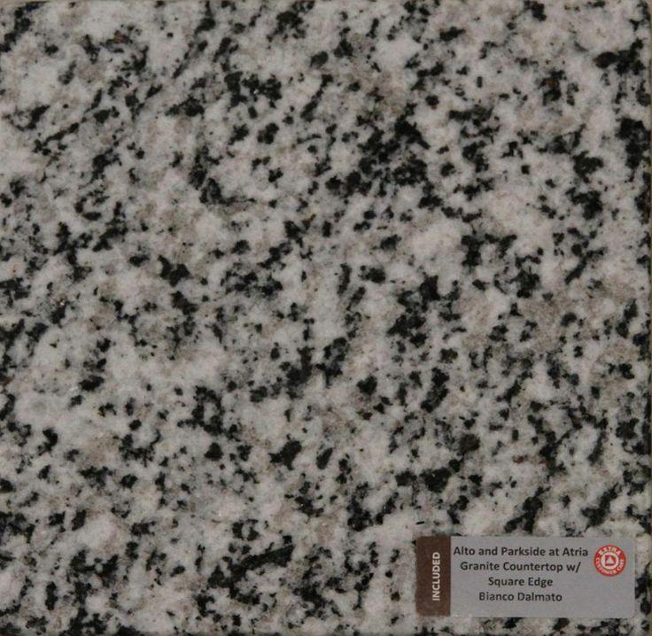 Included Kitchen Countertop - Granite Bianco Dolomite